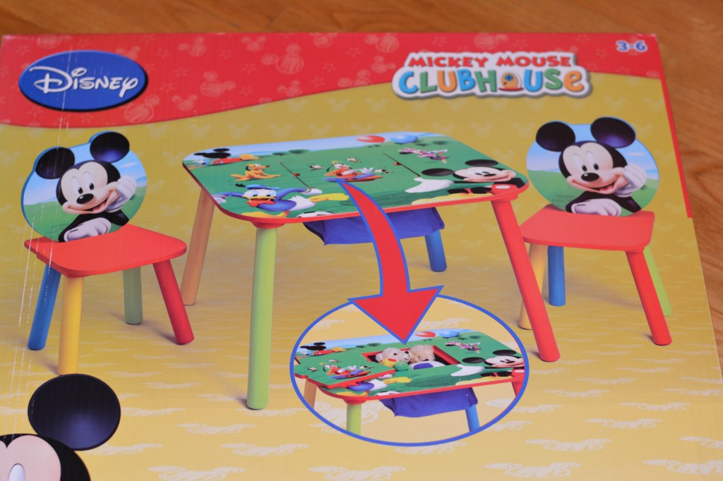 Delta Mickey Mouse Table and Chair Set