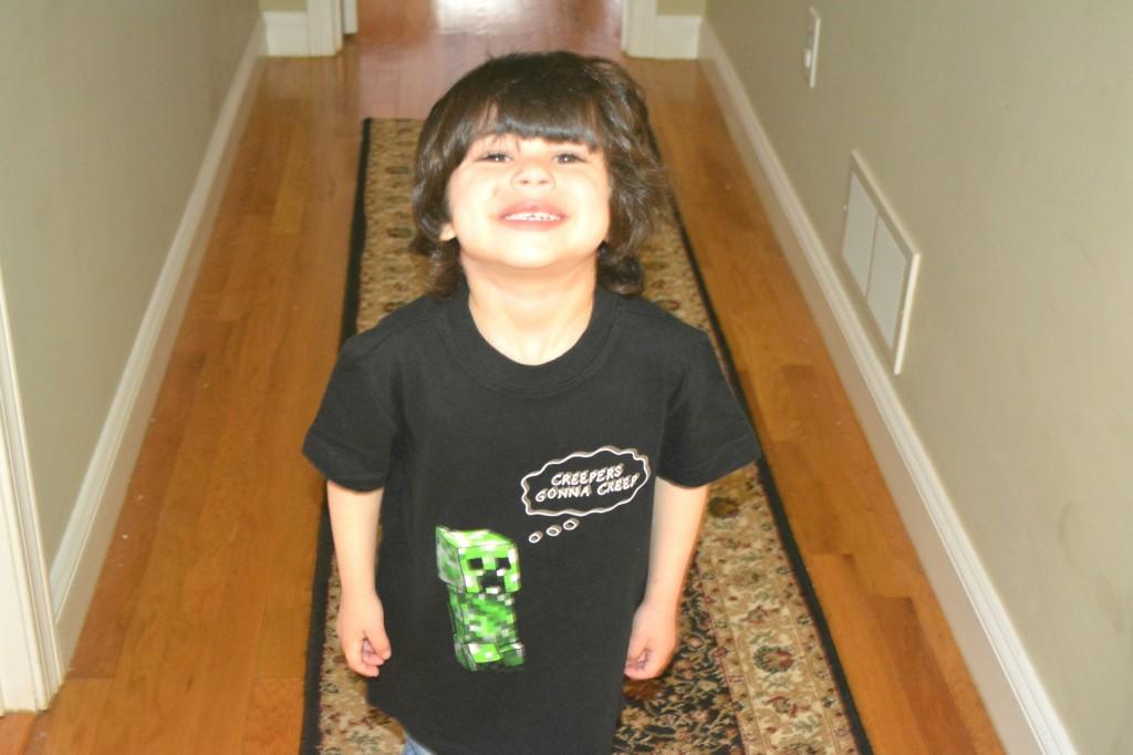 Minecraft Shirt