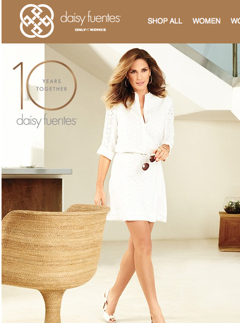 f5ab6d930d5 Daisy Fuentes Spring Fall 2016 Fashion Preview The Queen Of Style. Kohl S Daisy  Fuentes Line Now Available At Kohls. Kohl S Daisy Fuentes New Line Now ...