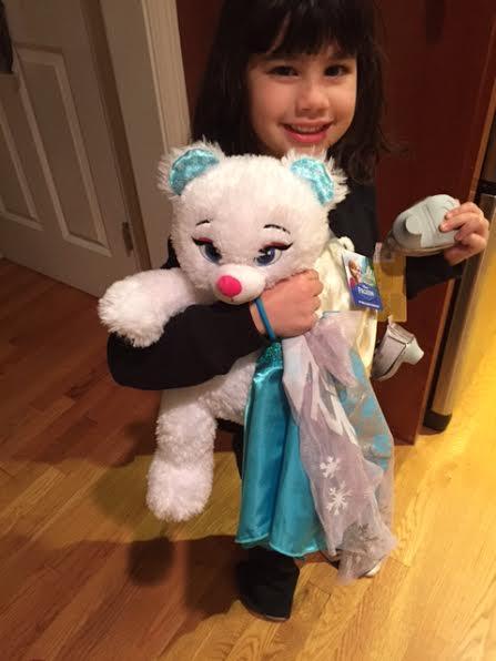 Build-A-Bear Elsa doll