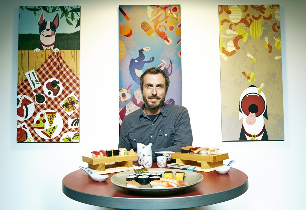 """FEAST""  Director Patrick Osborne. Photo by: Ricky Middlesworth. ©2014 Disney"