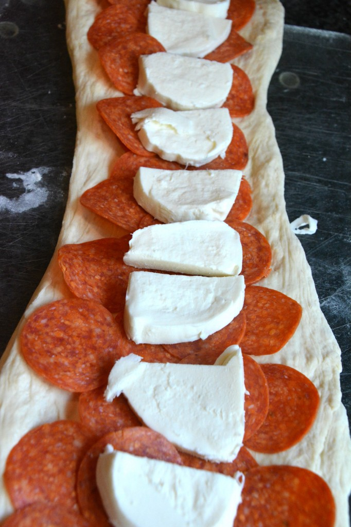 Pepperoni Cut Up Rolled Wraps