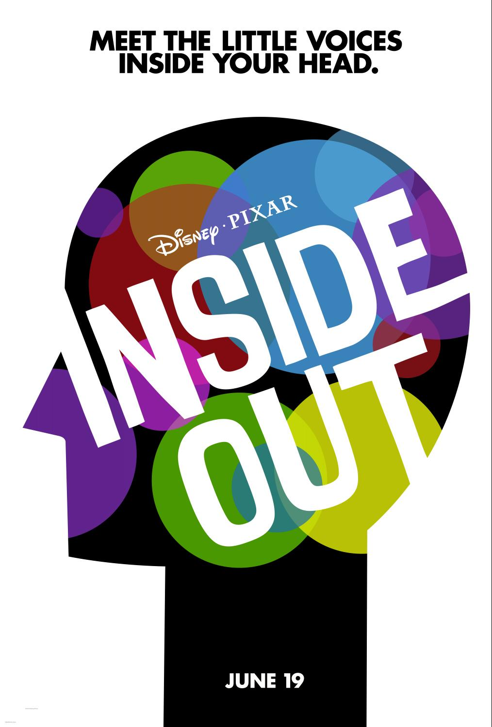 INSIDE OUT – Family Activity Sheets Now Available!!