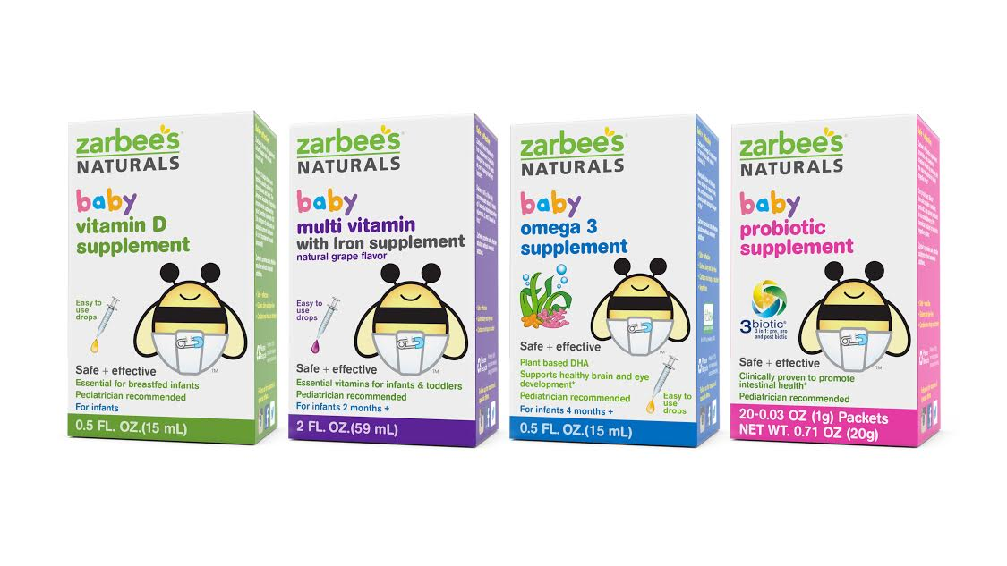 Baby Vitamins From Zarbee S Naturals Help Keep Your Kids