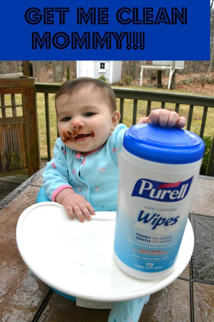 PURELL® Sanitizing Hand Wipes