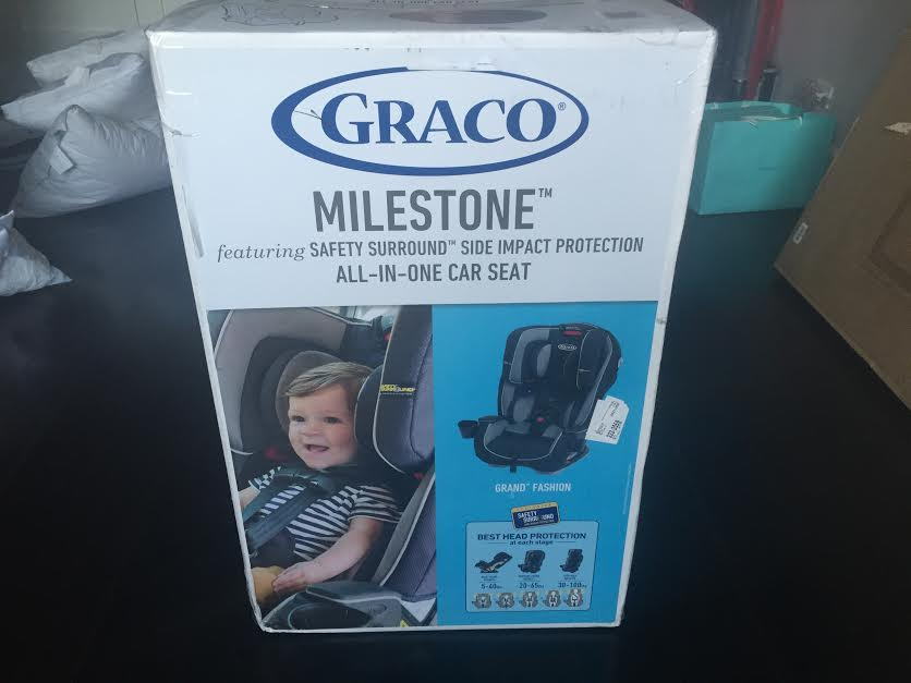 Graco Milestone All In One Car Seat Review Giveaway