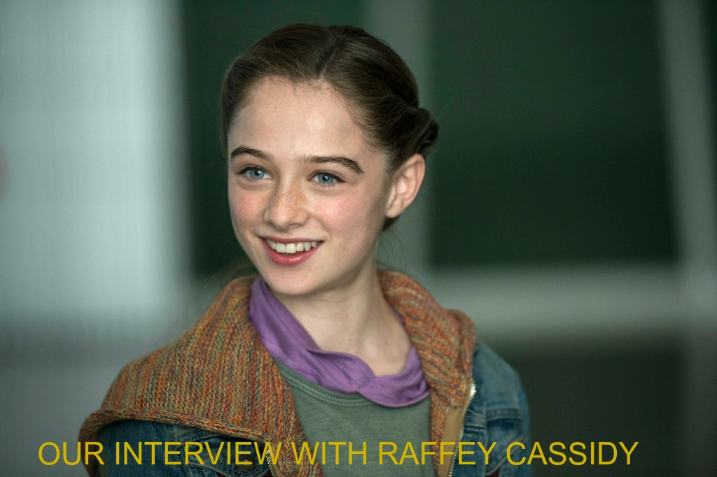 My Interview with the Adorable and Talented Raffey Cassidy (Athena) #TomorrowlandEvent