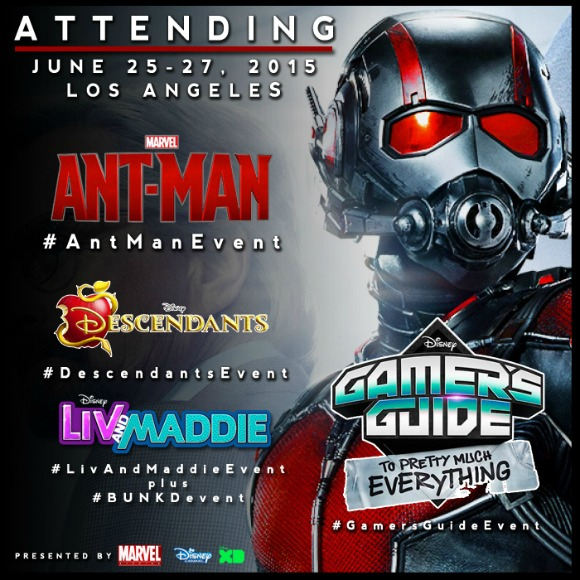 I Am Heading to Los Angeles for the #AntManEvent! Follow Along….