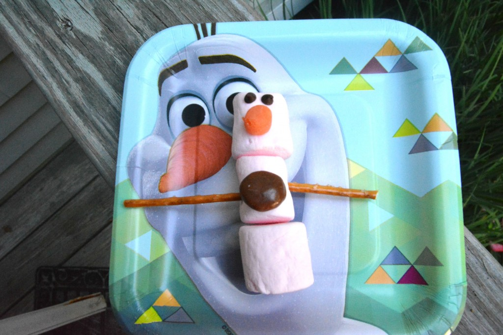 How to Make Olaf Themed Party Bags