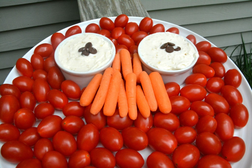 Edible Elmo Plate