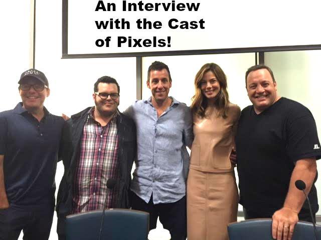 An Interview with the Cast of Pixels!  #PixelsMovie #PixelsJunket