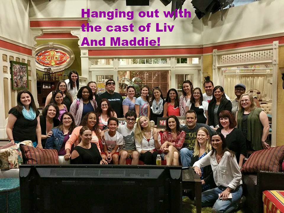The Cast of LIV AND MADDIE are AWESOME! #LivAndMaddieEvent