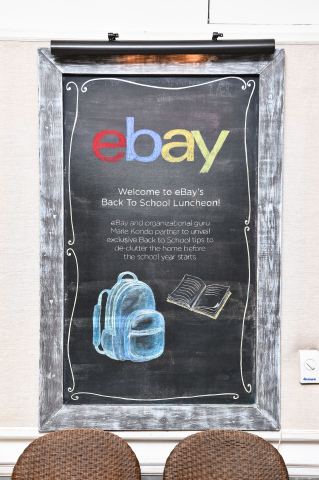 eBay and MARY ALICE STEPHENSON Partner to Unveil Exclusive Back to School Tips