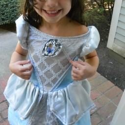 Hayley's Cinderella Dress from Costume Express!
