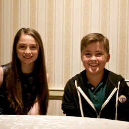 My Interview with Raffey Cassidy and Thomas Robinson from Tomorrowland! #TomorrowlandBloggers