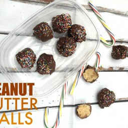 The MOST AWESOME Peanut Ball Recipe for the Holidays!