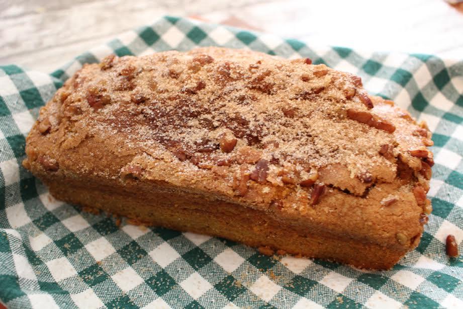 Pumpkin Pecan Loaf