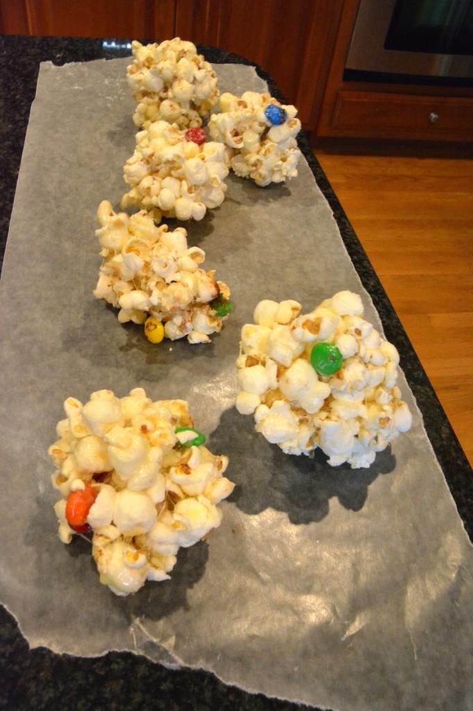 M&M's® Popcorn Ball