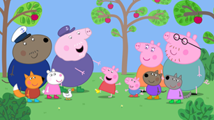 Peppa Pigs The Golden Boots Dvd App And Tv Special Come Read