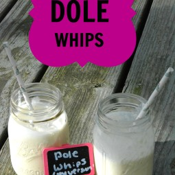 Mock Dole Whip Recipe! Try it For Your #DisneyKids Party!