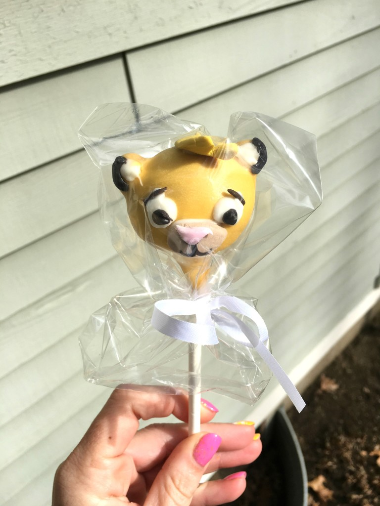 Lion King Cake Pops