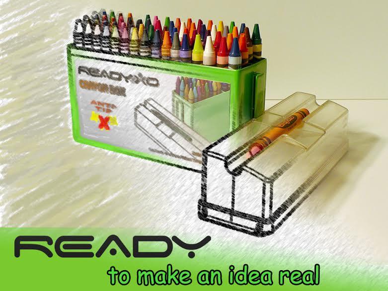 Ready to make an idea real. Ready-XO