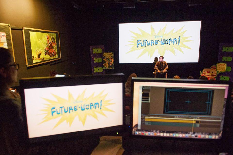 Future-Worm Disney press trip