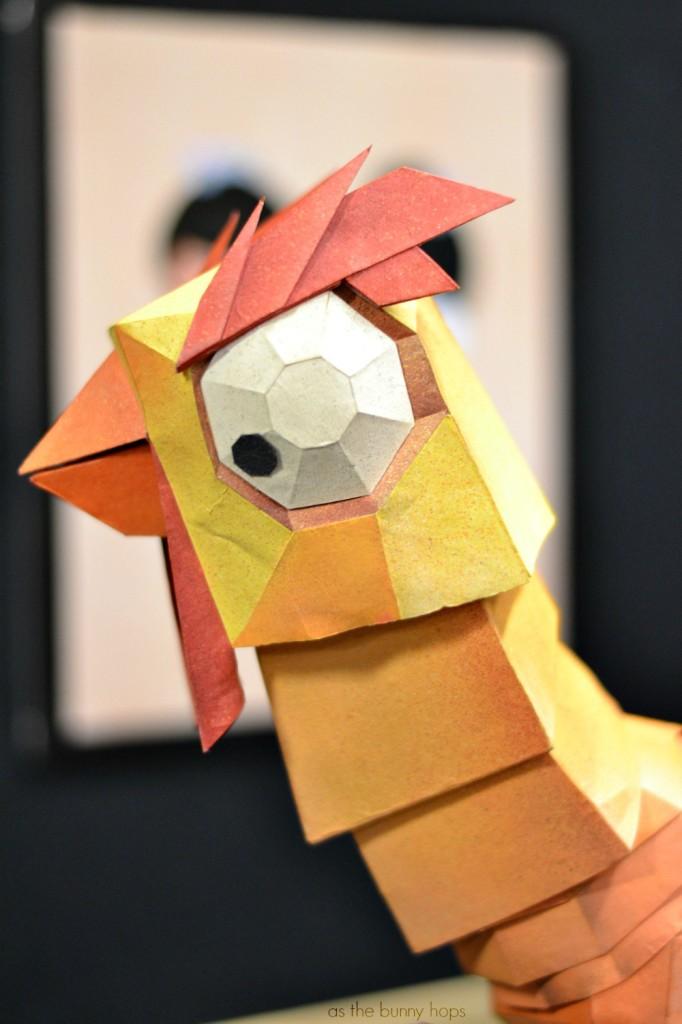 Origami Chicken