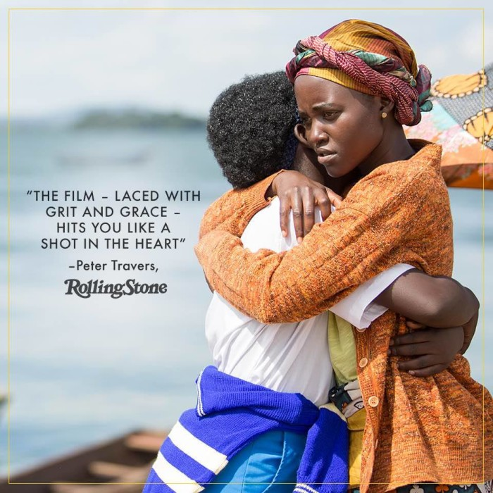 (Taken from Queen of Katwe Facebook Page)