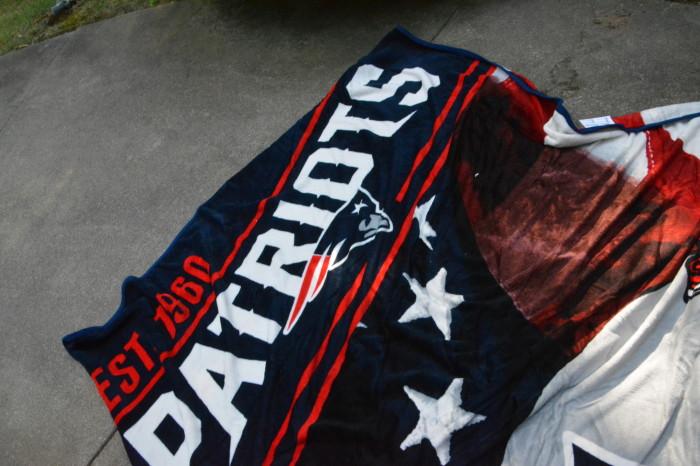 NFL throw blanket