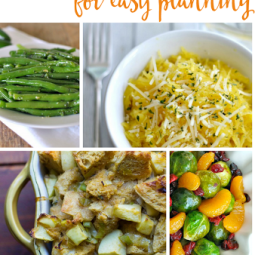 25 EASY THANKSGIVING SIDE DISH RECIPES!!