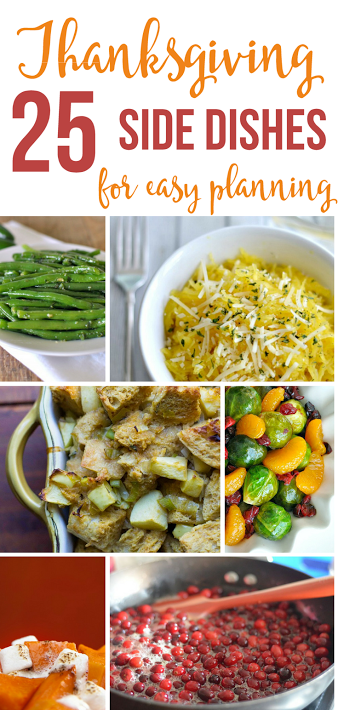 Thanksgiving side dishes