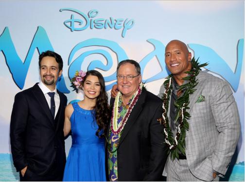 Moana Disney press trip