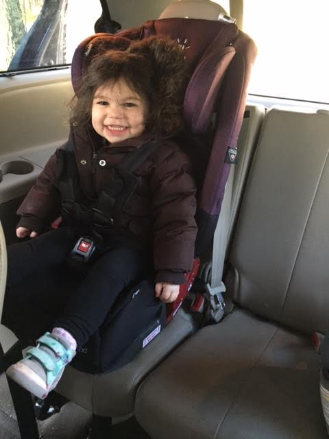 Photo for picture only. Please note no jackets when sitting in car seat when car is moving!