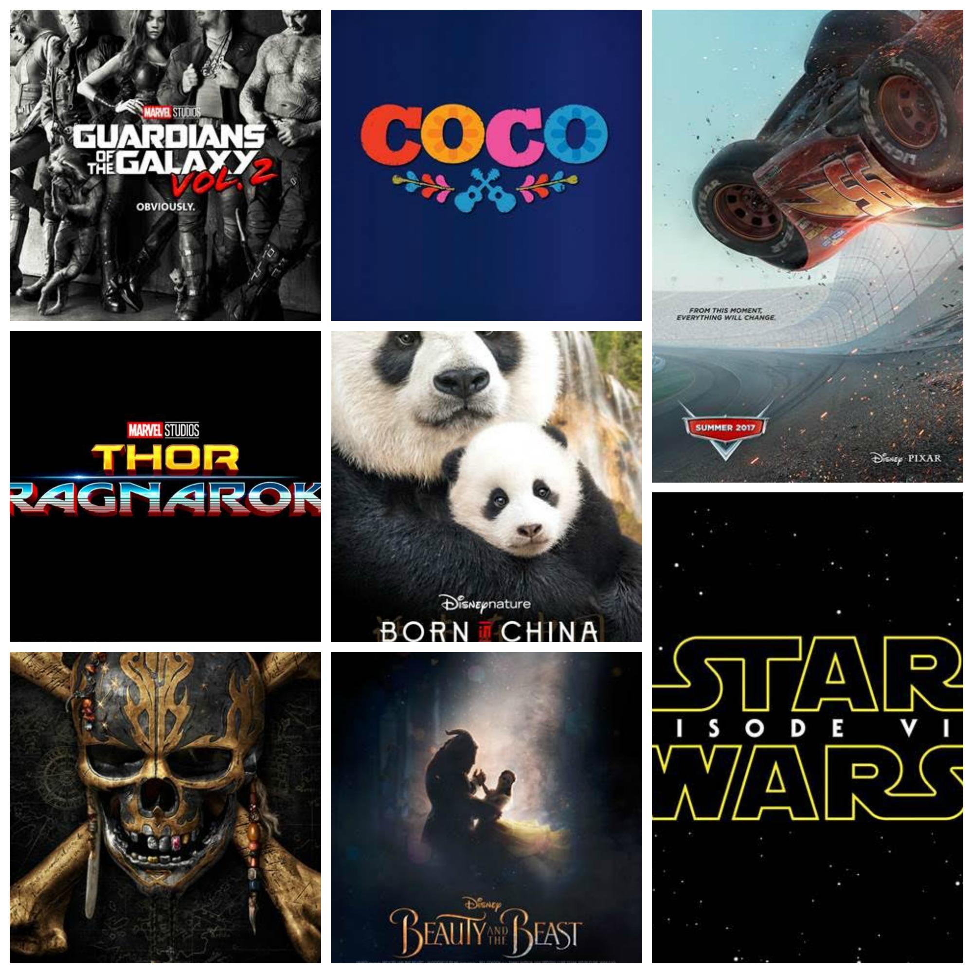 Your 2017 Walt Disney Movies