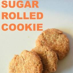 Sugar Rolled Cookie Recipe!