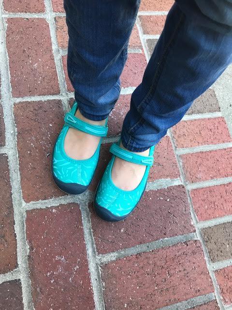Keens footwear