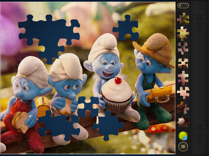 Magic Jigsaw App