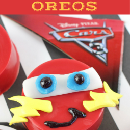 CARS LIGHTING MCQUEEN OREOS Recipe!