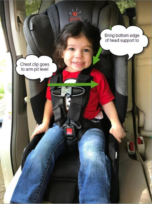 BUCKLE YOUR CHILD IN THE CAR SEAT THE CORRECT WAY