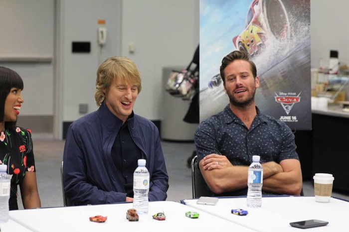cars 3 press junket