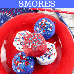 Patriotic Nutella Ritz Smores Recipe Just in Time for the 4th of July!!