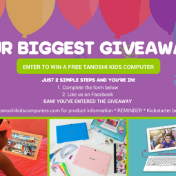 Win a Tanoshi 2 in 1 Computer! GIVEAWAY! One of my Blog Readers will WIN!