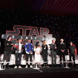 What it is like being at the Star Wars: The Last Jedi Press Conference!