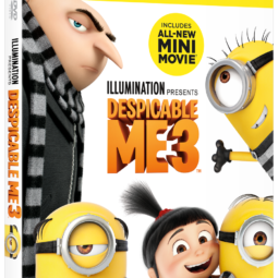 DESPICABLE ME 3 DVD Giveaway!