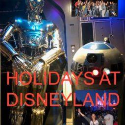 Enjoying The Holidays at Disneyland!