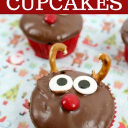 Delicious Reindeer Cupcakes Recipe!