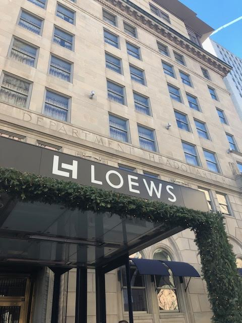 Staycation at the Loews Boston