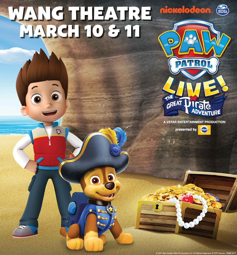 Paw Patrol Live in Boston