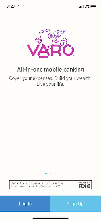 Varo is a great mobile banking app!